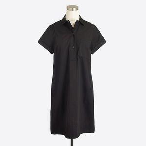 J. Crew Black Shirt Dress